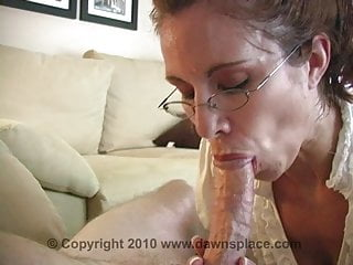 Hot wife Allison for a hot blowjob