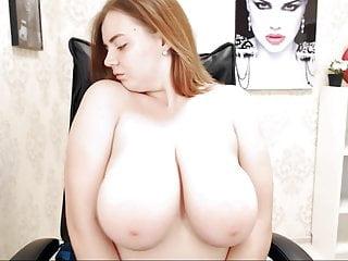 very busty but shy cam-slut