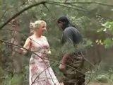German Mature Bitch Gets Fucked In The Woods By Black Guy