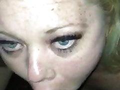 Katrina Blacked aka Snowbunny xxx sucking married Black man