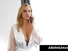Motherly Love With Julia Ann Fucking Step-Sons Young Dick!