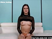20 year old debutant breaks down after facefucking & anal