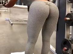 Maripily en el gym
