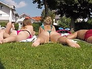2 bonnasses au soleil